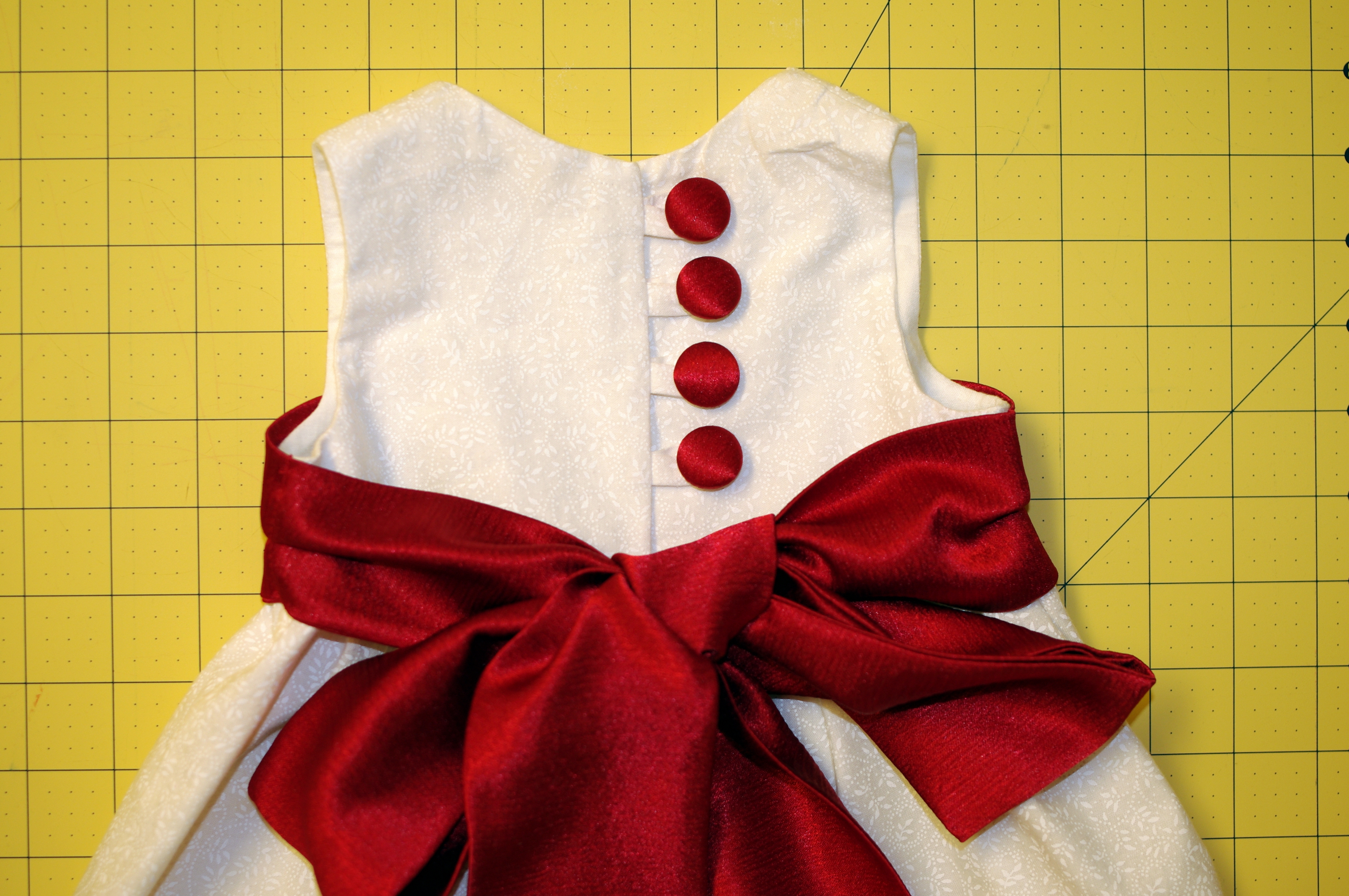 how to make baby dress