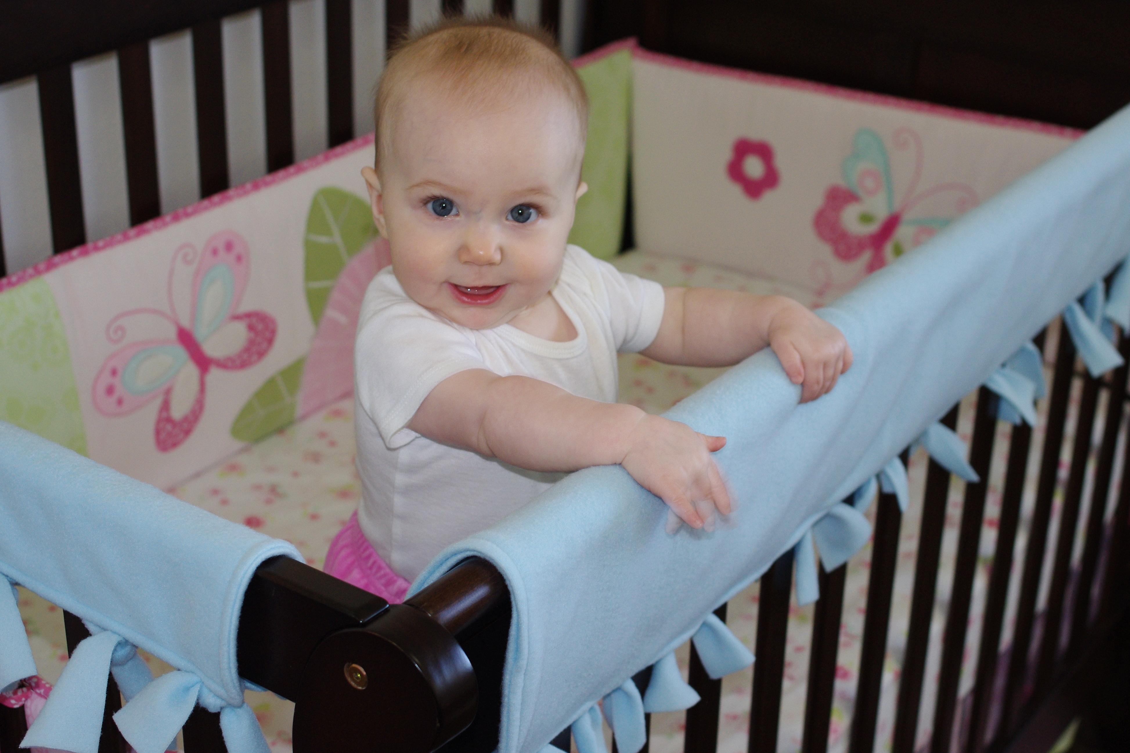 Crib Rail Teething Guard Tutorial Baby Bird Sewing